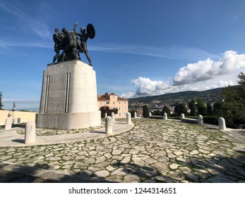 Monument ai caduti di Trieste in Italy