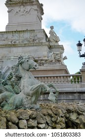 Monument aux Girondins is a dramatic fountain statue in Bordeaux which commemorates the Girondists.