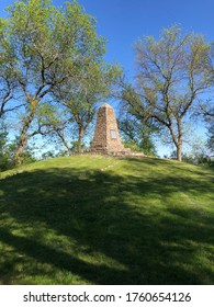 Monument in Beaver Lake State Park