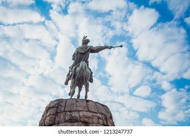 Monument to Bohdan Khmelnytskyi in Kyiv