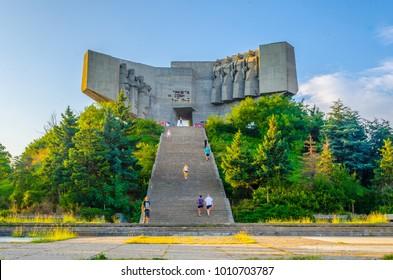 Monument of Bulgarian Soviet friendship in Varna, Bulgaria
