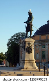 Monument to Charles XI. at the Stortorget in Karlskrona