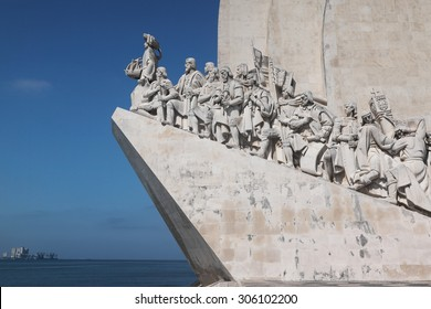 Monument of Discoveries is a monument on the bank of the Tagus River, in Belém, Lisbon. The monument celebrates the Portuguese Age of Discovery during the 15th and 16th centuries.