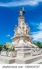 The Monument du Comtat in Avignon in a beautiful summer day, France