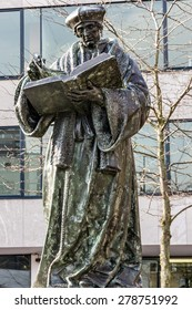 Monument to Erasmus of Rotterdam, Netherlands (Desiderius Erasmus Roterodamus)