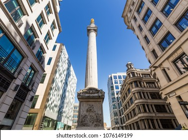 Monument to the Great Fire in London