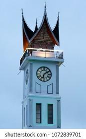 monument hour padang west sumatra