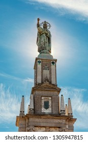 Monument of King-Christ statue