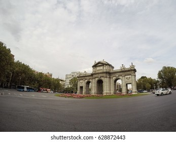 Monument in Madrid