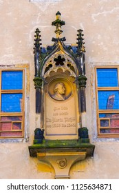 Monument Martin Luther House Lutherstadt Wittenberg Germany