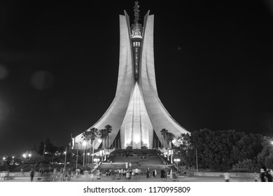Monument of Martyrs , the most important et historic monument in Algeria