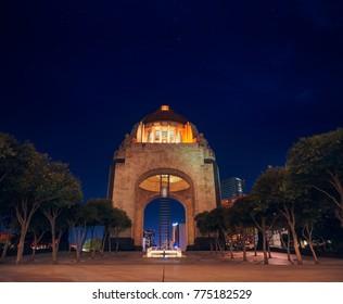 Monument to the mexican revolution (monumento a la revolucion) Mexico City, CDMX.