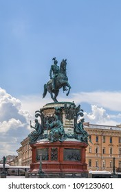 Monument to Nicholas I is a bronze equestrian monument of Nicholas I on St Isaac's Square in Saint Petersburg, Russia.