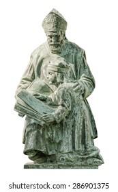 Monument of St. Gellert in the City of Szekesfehervar, Hungary