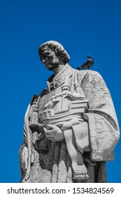 Monument to St. Vincent - the patron saint of Lisbon