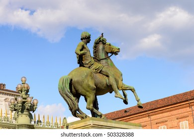 Monument in Turin, Piedmont, Italy.