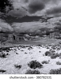 Monument Valley Arizona site of many cowboy western movies