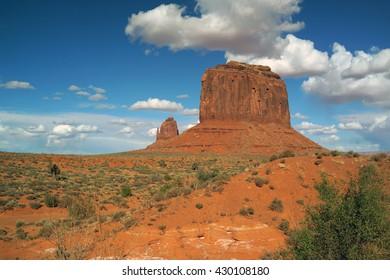 monument valley, Arizona, Utah, USA, Navajo Nation reservation