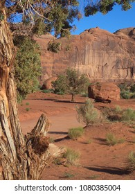 Monument Valley Landscape in the USA  like Outback in Australia
