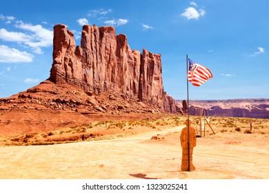 Monument Valley Navajo Tribal Park, Arizona-Utah, US
