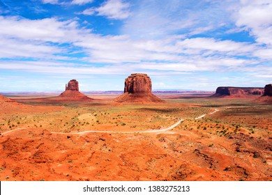 Monument Valley, Navajo Tribal Park, Arizona and Utah