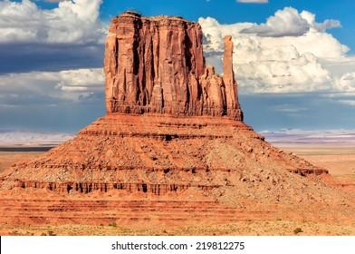 Monument Valley, Navajo Tribal park, Arizona, Utah, USA
