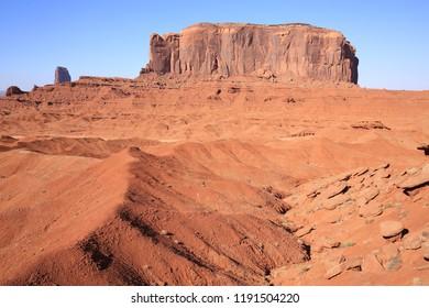 Monument Valley Tribal Park, Navajo Nation, Utah and Arizona, USA