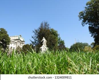 Monument to Wolfgang Mozart in Vienna. Vienna. Austria, Wolfgang Amadeus Mozart