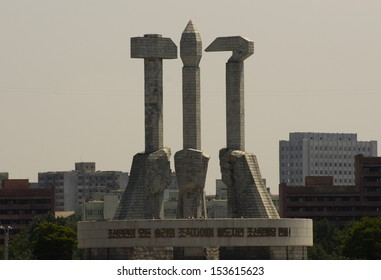 Monument, Workers' Party of Korea.