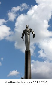 Monument to Yuri Gagarin, Moscow, Russia