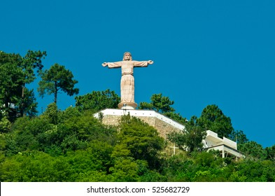 Monumental Christ at Atachi Hills, Taxco, Mexico