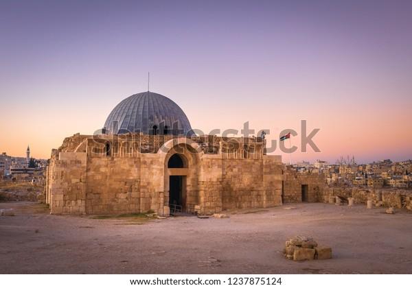 The Monumental Gateway of the Umayyad Palace at the Amman Citadel, Amman, Jordan