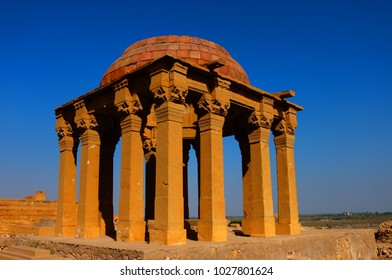 Monuments of Makli Graveyard , Thatta , Interior Sindh , Pakistan