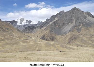 Monutain landscape in La Raya, Peru