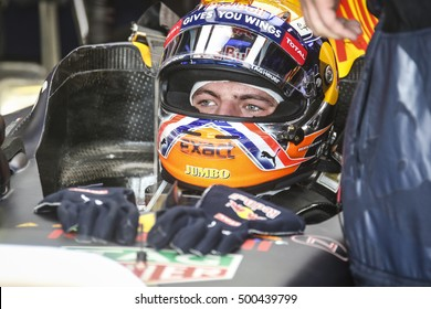 Monza, Italy, 3 September 2016. F1, grand prix of Italy. Max Verstappen, dutch driver of Red Bull.