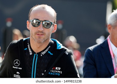 Monza, Italy. 8th September 2019.  Formula One Grand Prix of Italy. Robert Kubica of ROKiT Williams Racing  during  the F1 Grand Prix of Italy