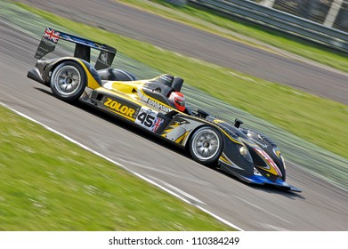 MONZA, ITALY - APRIL 27: Embassy WF01 LMP2 driven by Mario Haberfeld and Warren Hughes racing in the 1000km of Monza. April 27, 2008 in Monza, Italy