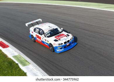 Monza, Italy - May 30, 2015: BMW M3 E46 of W&D RACING TEAM team, driven  by MELONI Paolo - TRESOLDI Massimiliano during the C.I. Turismo Endurance on May 30, 2015 in Monza, Italy.