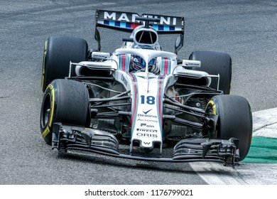 Monza, Italy. September 2, 2018. Grand Prix of Italy. F1 World Championship 2018. Lance Stroll, Williams.