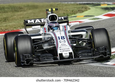 Monza, Italy. September 3, 2017. F1 Grand Prix of Italy. Lance Stroll, Williams.