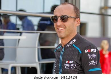 Monza (MB), Italy, September 07 2019 ROBERT KUBICA (POL) WILLIAMS F1 FW42  during Grand Prix Heineken Of Italy 2019 - Saturday - Paddock  Formula 1 Championship