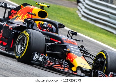 Monza/Italy - 09/01/2018  Max Verstappen (NDL) in his Red Bull Racing RB14