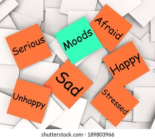 Moods Note Meaning Emotions And Feelings