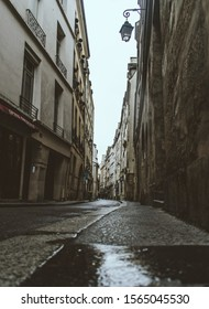 Moody afternoon on a Paris sidestreet
