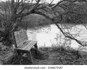 Enjoyable Wooden Bench With Leaning Images Stock Photos Vectors Uwap Interior Chair Design Uwaporg