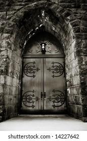 Moody Church Door