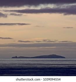 Moody evening light, Fair Isle, Shetland, Scotland, UK.