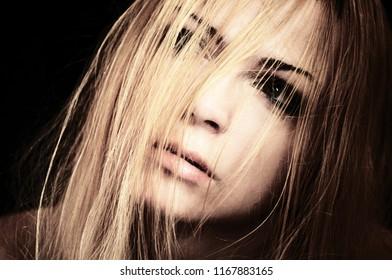 Moody Girl Portrait