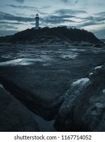 Moody Lighthouse at Norah Head, Australia.