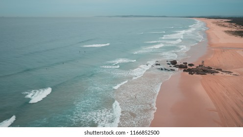 Moody Sunrise at Redhead Beach, Australia